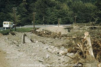 """zwischen Bärenstein und Lauenstein, unterhalb des ehemalige Anschlusses Sägewerk, am Abzweig der Straße """"Liebenauer Weg"""""""