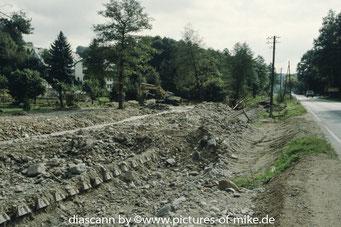 zwischen Bärenstein und Lauenstein, etwa auf Höhe des ehemalige Anschlusses Sägewerk
