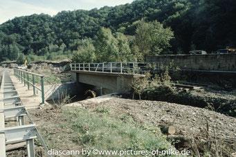 unterhalb Mühlbach, Höhe ehemaliges Zellstoffwerk