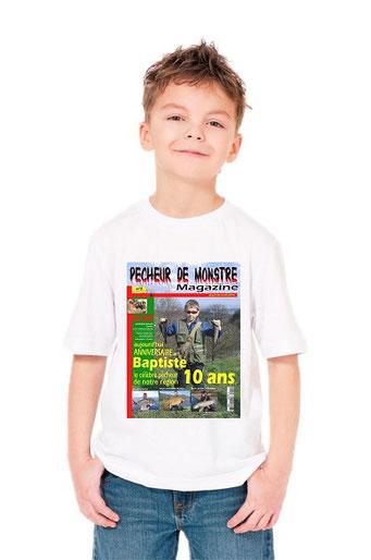 tshirt garçon pêcheur