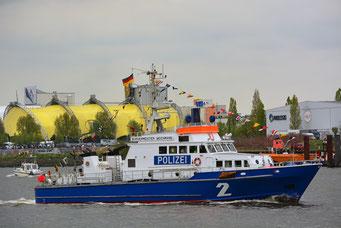 BÜRGERMEISTER WEICHMANN  zum 828.Hamburger Hafengeburtstag