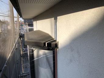 出窓上端現況(さいたま市の住宅外壁塗装)