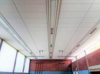 Projekt in Bochum: Ballwurfsichere Akustikdecken