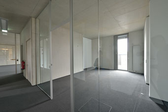 Projekt in Bochum: Glastrennwände