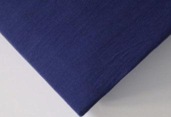 Spannbettlaken mit hohem Seitensteg in Farbe navy