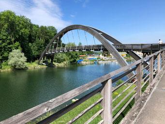 Brücke nach dem Mont Vuilly (Photo Joris Ryf)