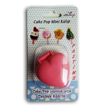 RP10803 - Kalp Cake Pop Kalıbı