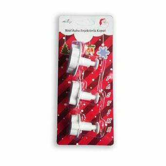 RP10106 - Noel Baba 3'lü Büyük Boy Enjektörlü Kopat