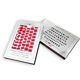RP10902 - Pastime Alfabe+Rakam Full Set