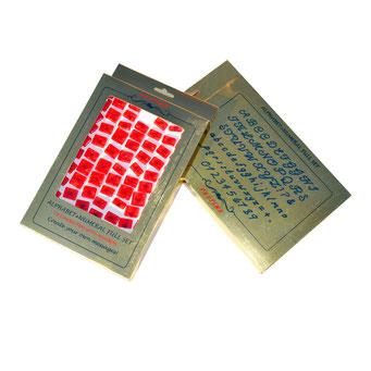 RP10901 - Pastime El Yazısı Alfabe+Rakam Full Set