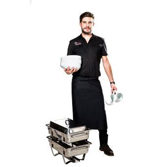ALEX STERNADEL, CATERING SERVICE UND DJ
