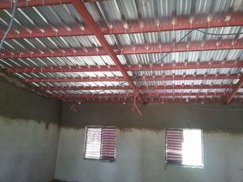 Installierung der Elektrik an der Maternelle, Juni 2017
