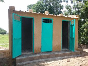 Bauarbeiten an den Toiletten, August 2017 (für die Schüler*innen)