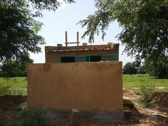 Bauarbeiten an den Toiletten, August 2017 (für die Lehrer*innen)