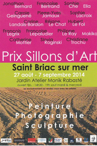 Exposition Prix Sillon d'Art // 2014