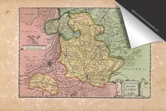 Provincie Limburg - Oude Kaart