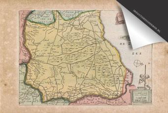 Veluwe - Oude Kaart
