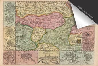 Oud Brabant - Oude Kaart