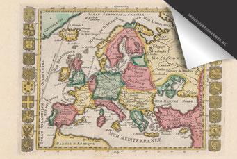 Europa- Oude Kaart