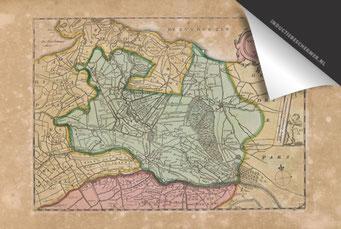 Provincie Utrecht - Oude Kaart