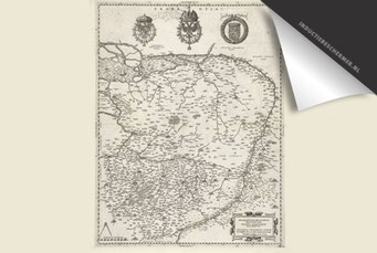 Provincie Brabant - Oude Kaart