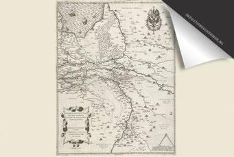 Provincie Gelderland - Oude Kaart