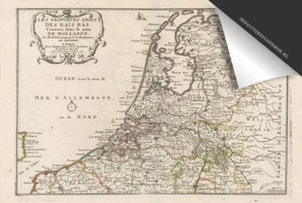 Nederland - Oude Kaart