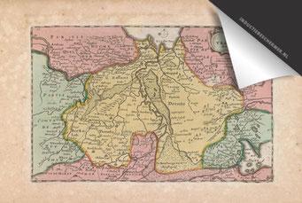 Provincie Drenthe - Oude Kaart