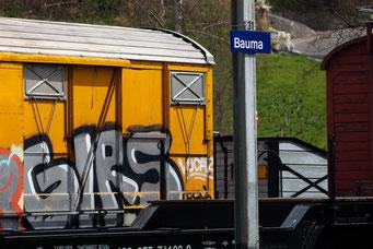 Dennis Feusi, Bahnhof Bauma