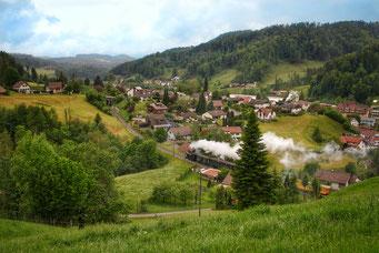 Cesar Bugmann, Wolfsbergstr Dampfbahn