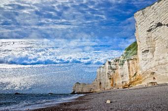 Étretat, De nuage et de mer © Annick Maroussy Amy