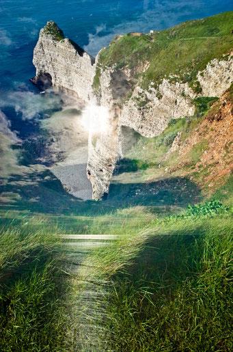 Étretat. Amont de Terre, de Mer et de Ciel © Annick Maroussy Amy