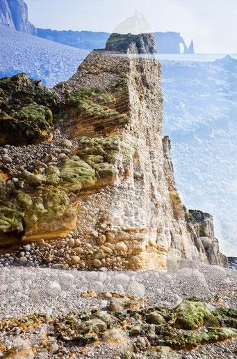 Étretat. Falaises rocheuses © Annick Maroussy Amy