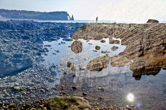 Étretat. Falaises, le voyageur de la mer © Annick Maroussy Amy