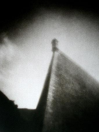 Le Palais, Citadelle Vauban, 2005, bichromie, procédé FRESSON, Format image 30x40, sous passe-partout 50x60cm, numéro 1/5