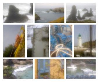 """Séquence """"zone plate"""" numérique, Belle-ile-en mer, Tirage """"Fine art"""", numéro 1/30"""