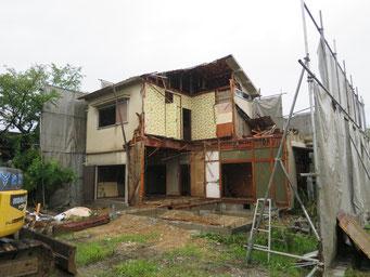 既設建物解体