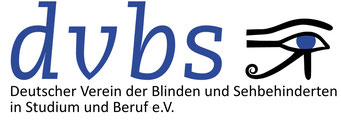 Logo DVBS German Association for the Blind and Visually Impaired in Study and Work, Germany