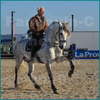 Cheval Passion 2016 - Alain LAUZIER sur cheval Espagnol