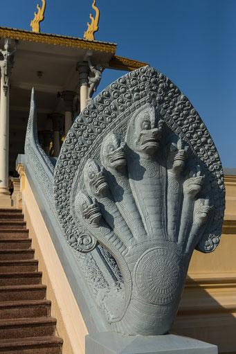 Königspalast Phnom Penh - Thronhalle