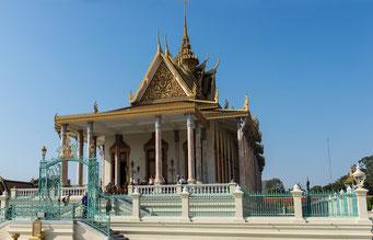 Königspalast Phnom Penh - Silberpagode