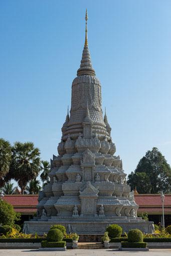 Königspalast Phnom Penh - Stupa