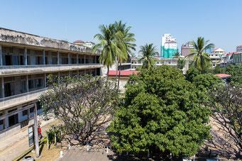 Tuol Slen, S-21 Gefängnis der Roten Khmer (ehem. Schulgebäude)