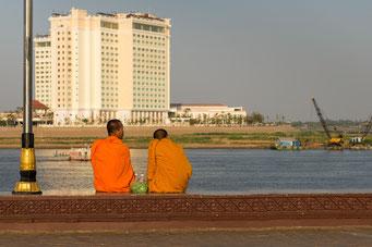 Phnom Penh am Mekong