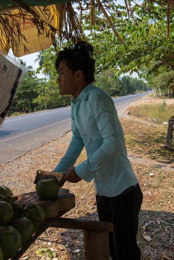 auf dem Weg nach Kampot