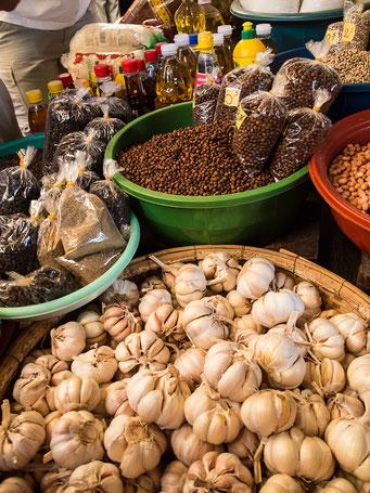 Markt in Kampot - Pfeffer