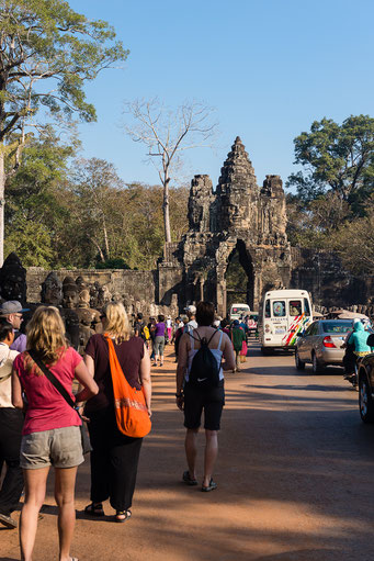 Tor zum Angkor Thom