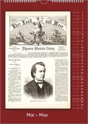 Musiker-Geschenk Komponisten-Kalender