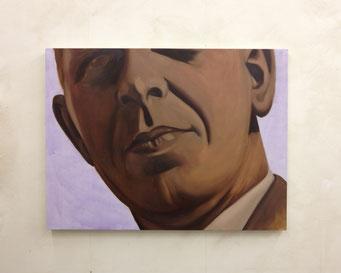 Ik wil eens met U praten, oil on canvas, 121 x 91 cm