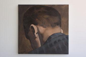 1952, oil on canvas, 81x81cm, 2016